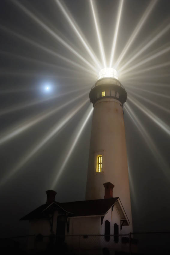 Pigeon Point Fresnel Lighting